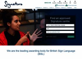 signature.org.uk