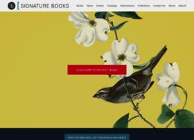 signaturebooks.com