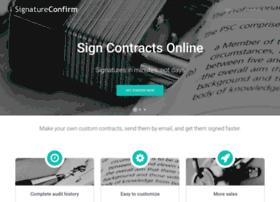 signatureconfirm.com
