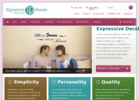 signaturedecals.com
