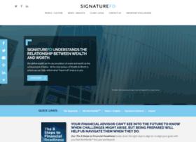 signaturefd.com