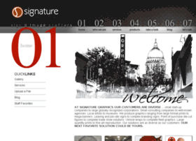 signaturegraphics.net