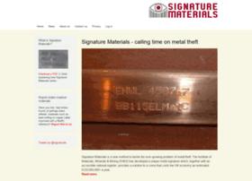 signaturematerials.com