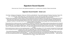 signaturesoundquartet.com