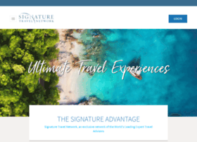 signaturetravelnetwork.com