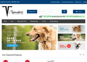 signaturevetcare.vetsfirstchoice.com