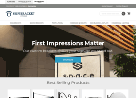 signbracketstore.com