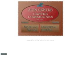 signcenterinc.com