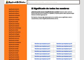 significadodenombres.com.es