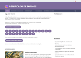 significadodesonhos.net