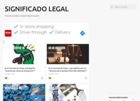 significadolegal.com