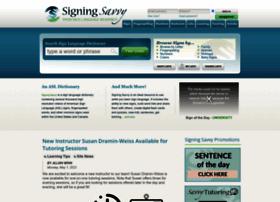 Signingsavvy.com