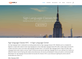 signlanguageclassesnyc.com