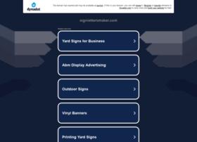 signlettersmaker.com