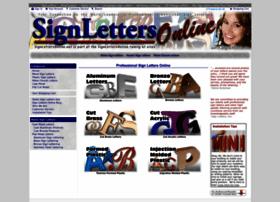 signlettersonline.net