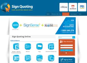 signquoting2.controlzoneonline.com.au