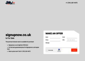 signupnow.co.uk