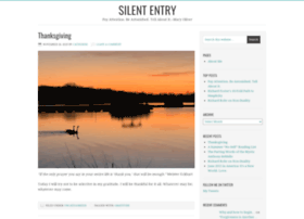 silententry.wordpress.com