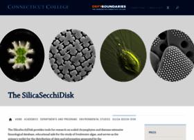 silicasecchidisk.conncoll.edu