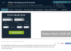 silken-berlaymont.hotel-rez.com