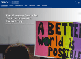 sillermancenter.brandeis.edu