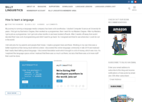 sillylinguistics.com