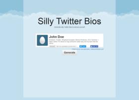 sillytwitterbio.com