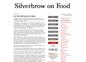 silverbrowonfood.com