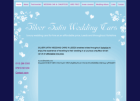 silversatinweddingcars.co.uk