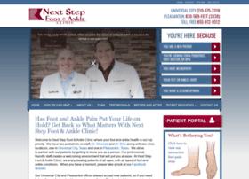 silvesterfootclinic.fosterwebmarketing.com