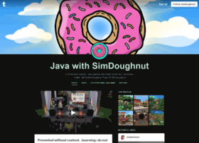 simdoughnut.tumblr.com