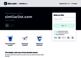 similarlist.com
