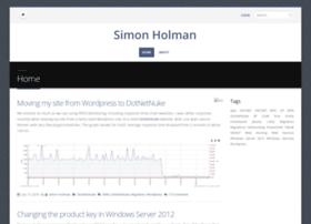 simon-holman.net