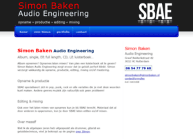 simonbaken-audio-engineering.nl