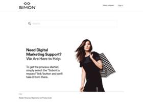 simonposupport.simon.com