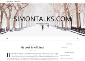 simontalks.com