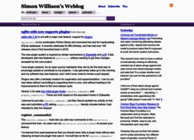 simonwillison.net