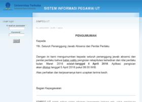 simpeg.ut.ac.id