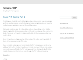simple-php.net