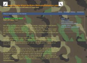 simple-ways-to-make-methamphetamine.com
