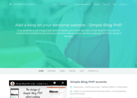 simpleblogphp.com