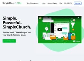 simplechurchcrm.com