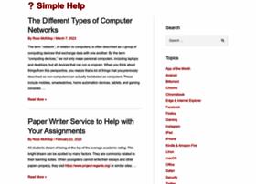 simplehelp.net