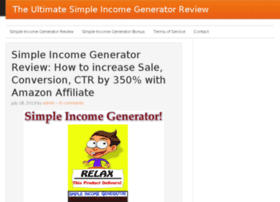 simpleincomegenerators.com