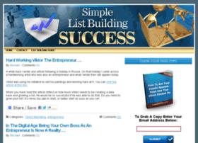 simplelistbuildingsuccess.com