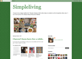 simpleliving-sherrie.blogspot.it