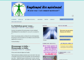 simplementetremaintenant.com
