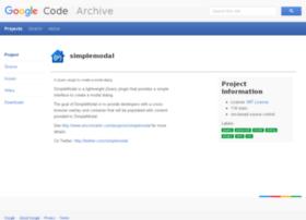 simplemodal.googlecode.com