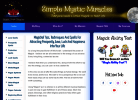 simplemysticmiracles.com
