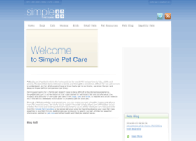 simplepetcare.com